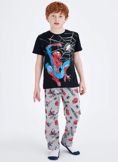 DeFacto Pijama Takım Siyah